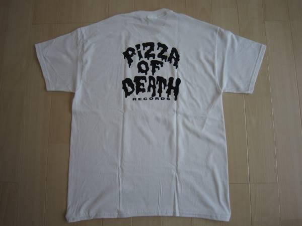 白L即決pizza of death Tシャツken yokoyamaハイスタBRAHMAN LEFLAHホルモンmwam 10-FEET airjamワニマ 04 Limited sazabys wanima