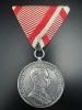 オーストリア=ハンガリー帝国 銀一級勇者メダル 実物