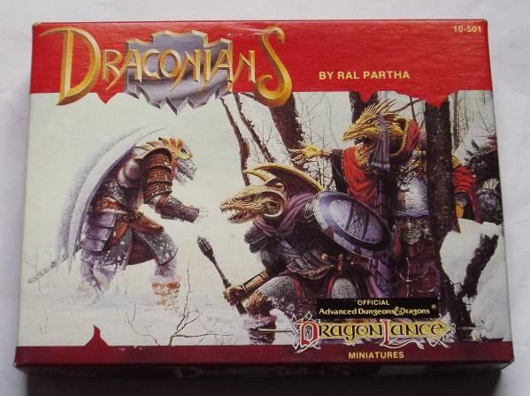 RAL PARTHA メタルフィギュア ドラゴンランス(DRACONIANS)AD&D_画像1