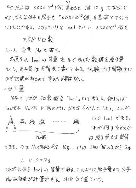 高橋直也塾 化学基礎 オリジナル教科書