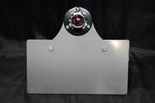 グラストラッカー サイドナンバーKIT 横マウント オールド1(LED)_画像1