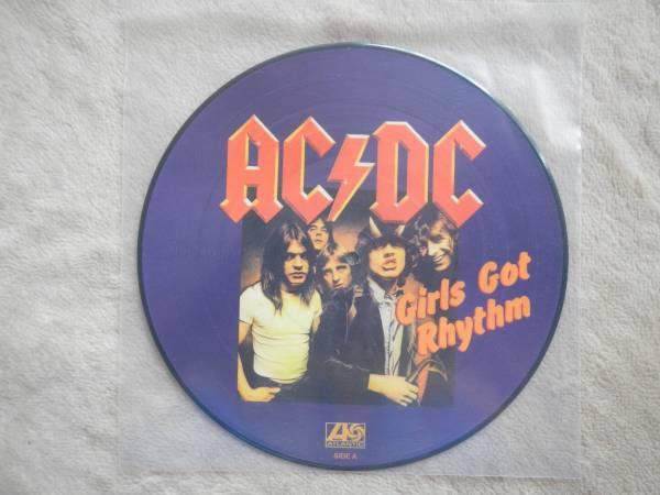 【10】ACDC/GIRLS GOT RHYTHM(DJ10K11406欧州製100LTD)_画像1