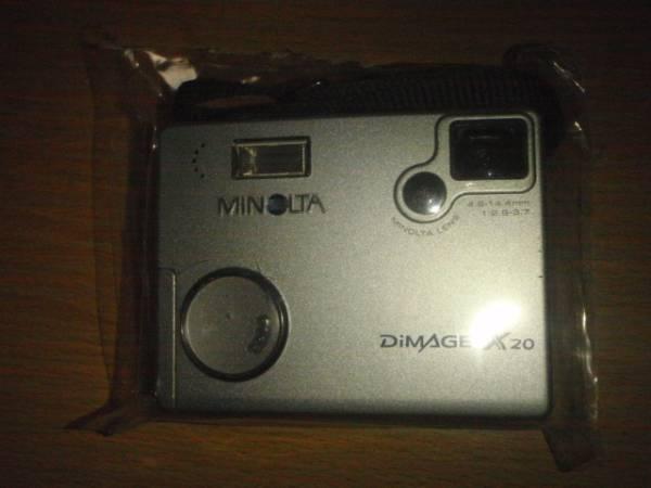 M004-09 MINOLTA製屈曲光学系デジタルカメラ DiMAGE X20