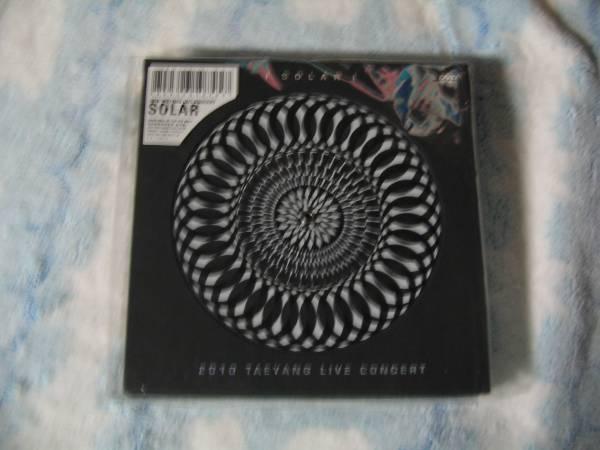 新品★テヤン 2010 TEYANG LIVE CONCERT DVD+CD 韓国 おまけ♪