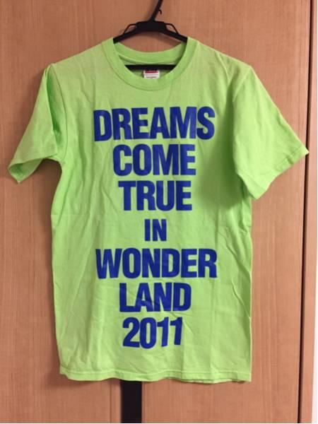 DREAMS COME TRUE IN WONDER LAND 2011 Tシャツ S 北海道