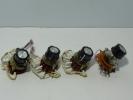 Alps electric rotary switch 4 piece
