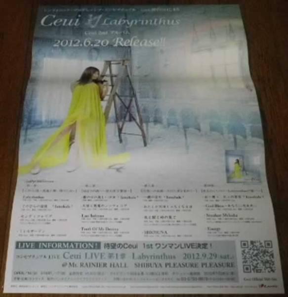 Ceui / Labyrinthus ポスター