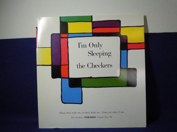 [古本]パンフ I'm Only Sleeping the Checkers ザ・チェッカーズ