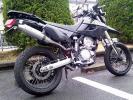 KLX250マフラー デルタステンレス ヨコタ製