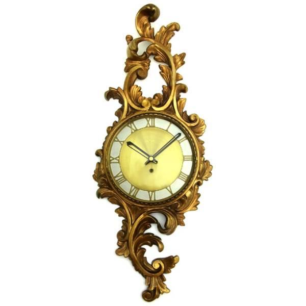 送料無料 アンティークウォールクロック WESTWOOD/ヴィンテージ壁掛け時計アメリカusaミッドセンチュリーモダン昭和レトロ60s70s北欧柱時計_画像1