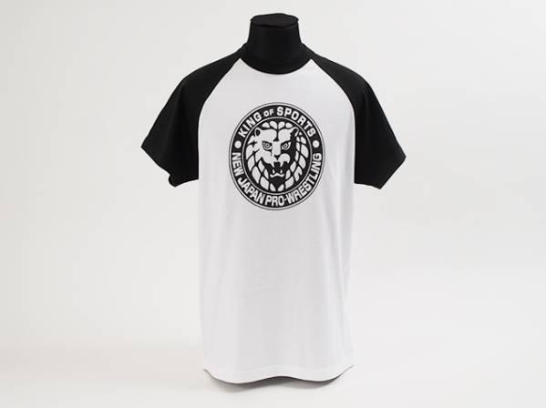 即 新日本プロレス TV朝日 ライオンマーク 黒 Tシャツ M 新品 グッズの画像