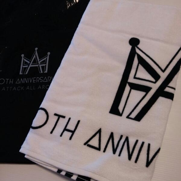 新品★AAA★10thアニバフェイスタオル レアカラー西島與伊藤宇野