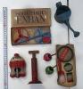 ブリキのおもちゃ 60年以上前のもの 砂遊び ジョロ 金魚ほか