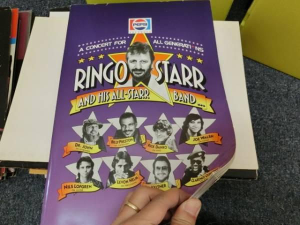 h/リンゴ・スター(Ringo Starr)/'89 ツアーパンフ/Beatles
