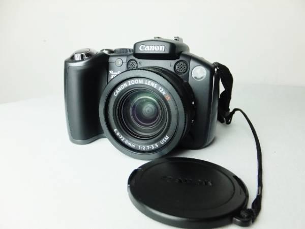 美品 動作確認済 単3電池仕様 キャノン パワーショット S5 IS デジタルカメラ PowerShot S5 IS バリアングル液晶