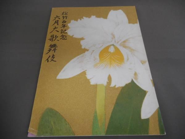 (管 HE 4)中古 歌舞伎座 パンフレット 平成 7年6月