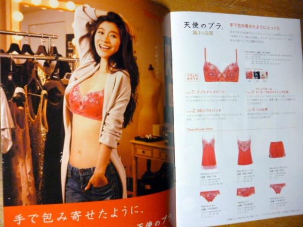即決 篠原涼子 トリンプ2015秋 下着カタログ 【送料無料】