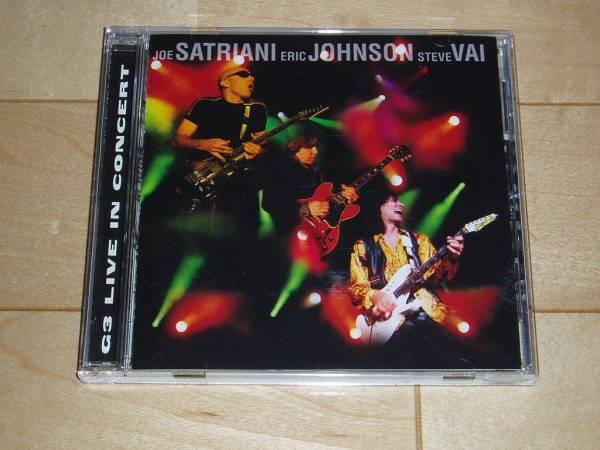 【音楽CD】 G3 Live in Concert / Satriani & Johnson & Vai