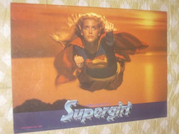 スーパーガール パンフレット 検スーパーマン アイアンマン バットマン グッズの画像