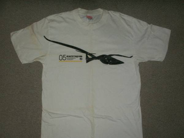 ELECTRAGLIDE 2005 Tシャツ ERECTROX ULTRAJAPAN ERECTRICZOO