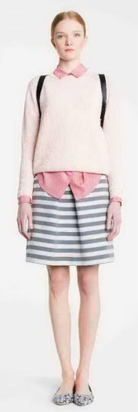 新品77%OFF マックスマーラ Max Mara デザインスカート グレー 40サイズ_画像3