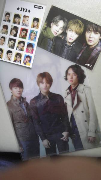★JYJ 2011 非売品~ロッテ免税店 クリアファイル1点限