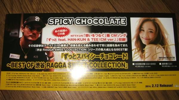 ミニポスターCF1 SPICY CHOCOLATE/ずっとスパイシーチョコレート