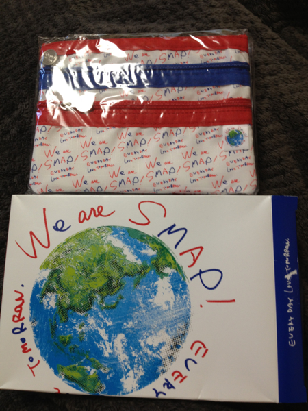 ★We are SMAP 2010 コンサートグッズ★ポーチ■新品■