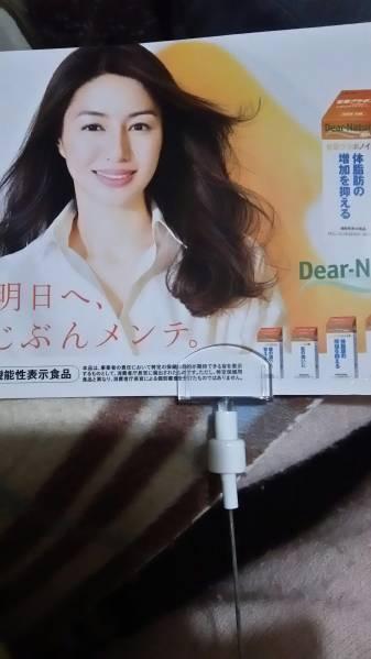 井川遥★ディアナチュラ★非売品*最新両面クリップポップ