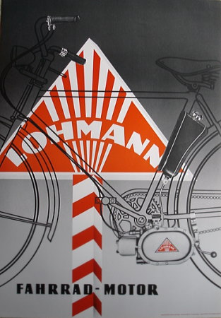 LOHMANN плакаты самодельный в Германии lb7501 *