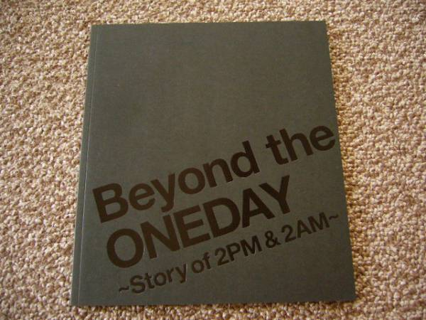 【即決】 2PM&2AM  Beyond the ONEDAY パンフレット