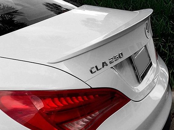 13up ベンツ CLA C117 W117トランク スポイラー ウイング エアロ 純正色塗装可 / リア リップ ディフューザー_画像1