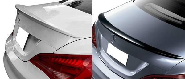 13up ベンツ CLA C117 W117トランク スポイラー ウイング エアロ 純正色塗装可 / リア リップ ディフューザー_画像2