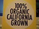 カリフォルニア CALIFORNIA GROWN ステッカー 防水
