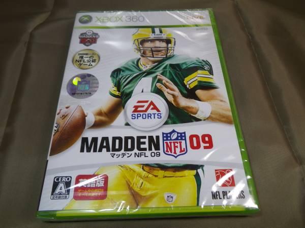 新品 Xbox360 マッデン NFL 09 英語版