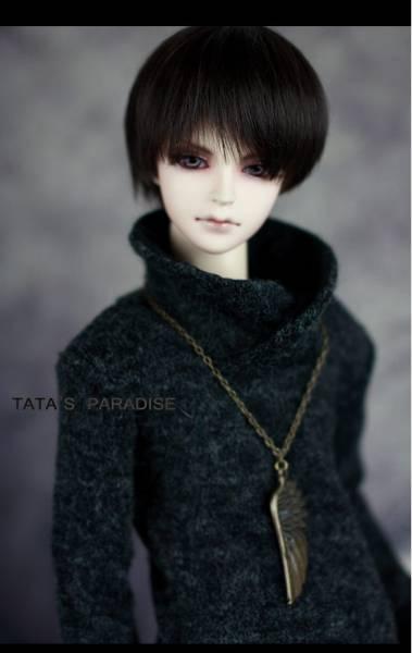 【N・TA】MSD、SD,SD13、SD17少年用立ち襟セーター _画像1