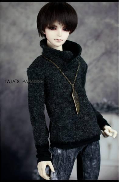 【N・TA】MSD、SD,SD13、SD17少年用立ち襟セーター _画像2