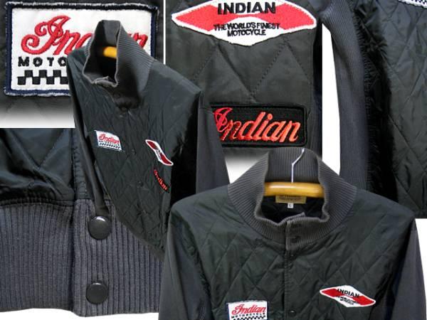 インディアンモトサイクル(Indian Motocycle)キルティングジャケット_画像2