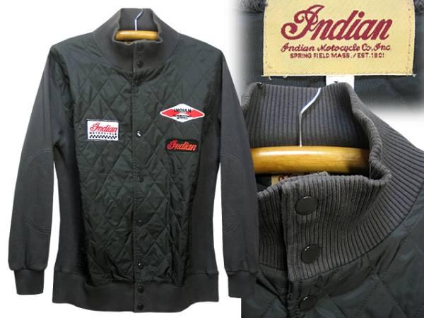 インディアンモトサイクル(Indian Motocycle)キルティングジャケット_画像1