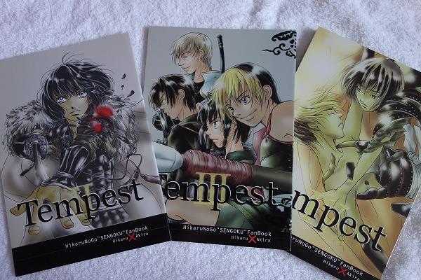 ヒカアキ長編小説◆タコツボ/奥戸ぱす様「Tempest 3冊セット」