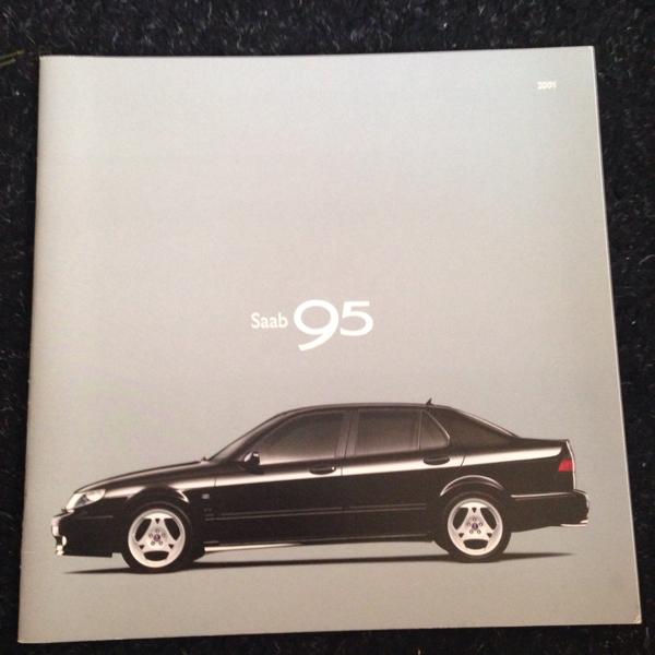 旧車カタログ サーブ 95 2000年10月 35ページ_画像1