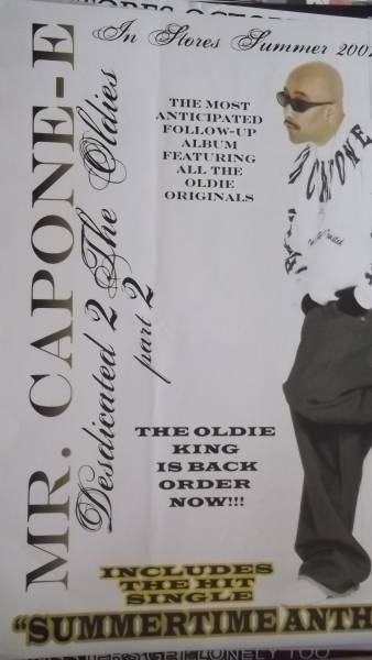 ☆MR.CAPONE-E Dedicated 2 The Oldies Part2のポスター