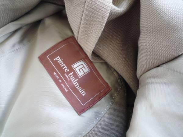 【お買い得!】 ● Pierre balmain ● 長袖ジャケット 茶 90A4_画像3