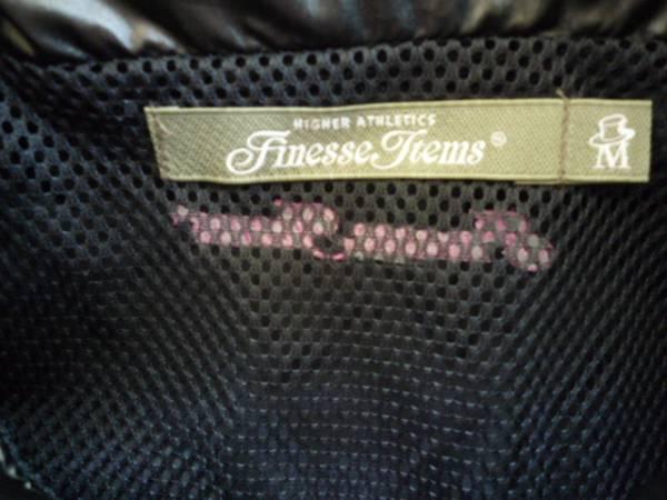 【良品!!】 ◆ Finesse Items ◆ ゴルフウェア 半袖 黒系 M_画像3
