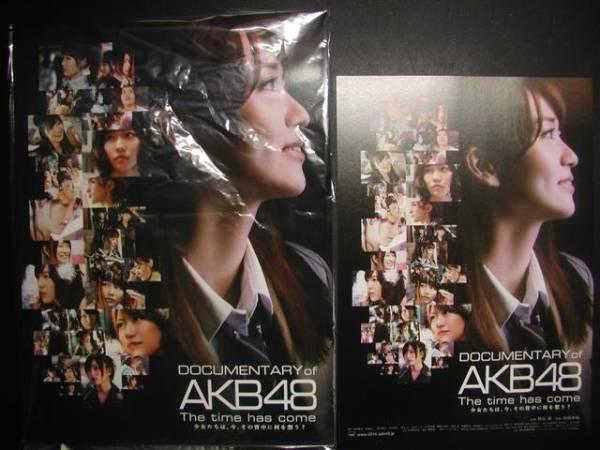 映画 DOCUMENTARY OF AKB48 The time has come パンフレット ライブ・総選挙グッズの画像