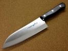 関の刃物 スジ三徳包丁 170mm クロムモリブデン鋼 肉切 万能包丁