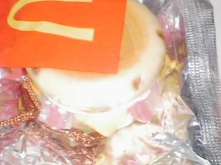 マックフードストラップ マックグリトルベーコン&エッグチーズ_画像2