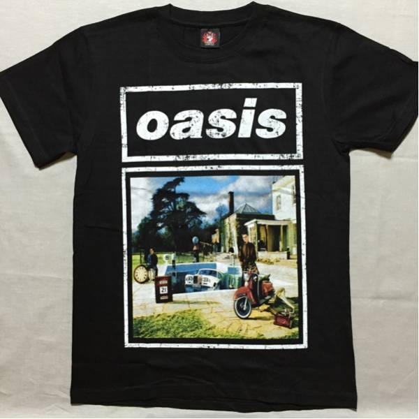 バンドTシャツ  オアシス(Oasis) w1 新品L