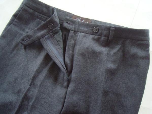 バーニーズニューヨーク購入 Belvest カシミア混パンツ size42_画像2