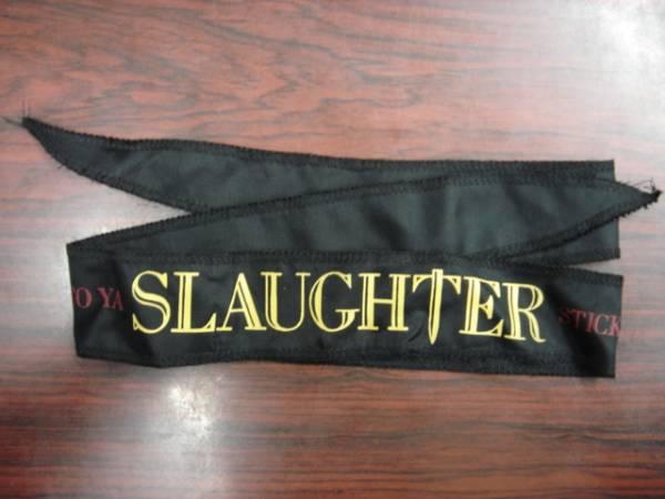 DEADデッドストックSlaughterスローターはちまき vinnievincentinvasionkiss
